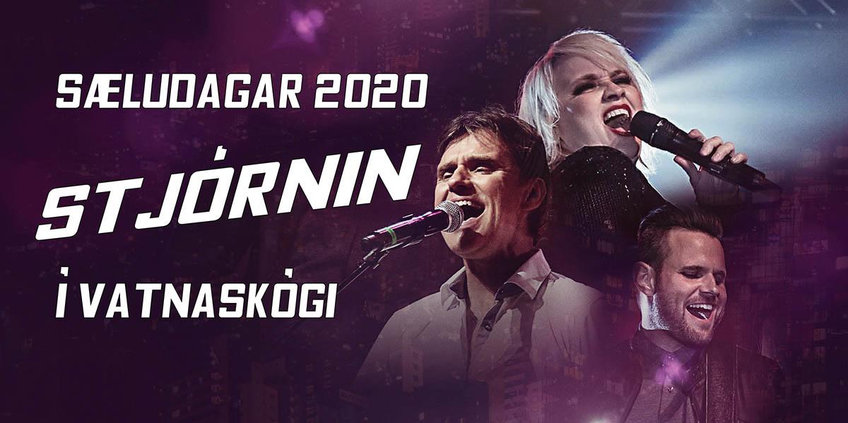 Stjórnin spilar á Sæludögum 2020